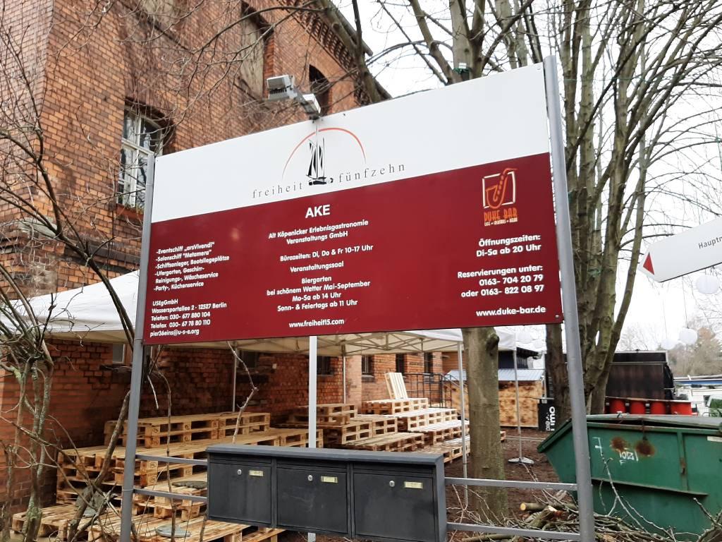 Profilfoto von AKE Alt-Köpenicker Erlebnisgastronomie und Veranstaltungs GmbH