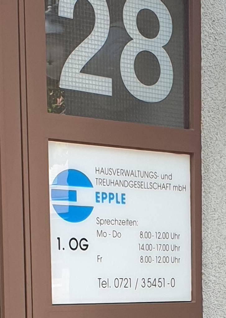 Profilfoto von Epple Hausverwaltungs- und Treuhand GmbH