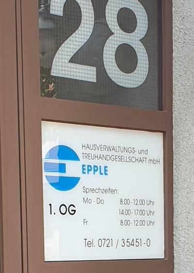 Epple Hausverwaltungs- und Treuhand GmbH - Karlsruhe