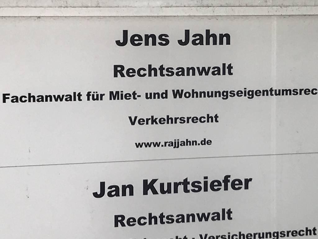 Profilfoto von Rechtsanwalt Jens Jahn