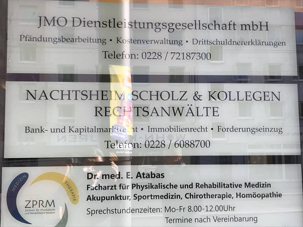 Profilfoto von Gemeinschaftskanzlei Scholz und Nachtsheim Rechtsanwälte