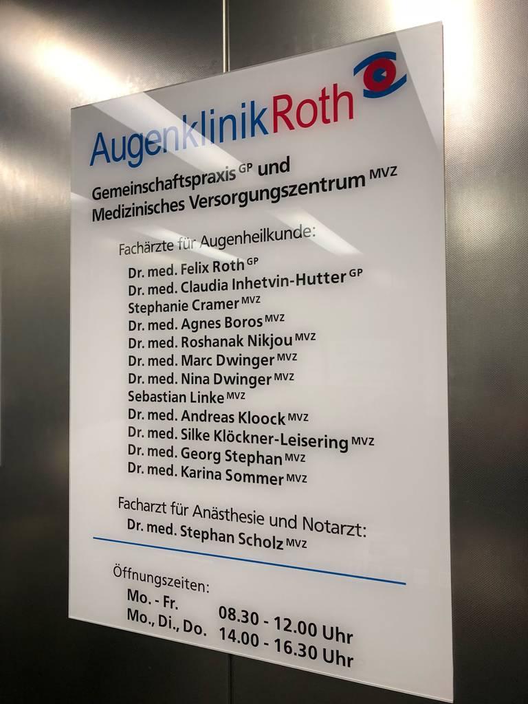 Profilfoto von Augenklinik Roth GmbH