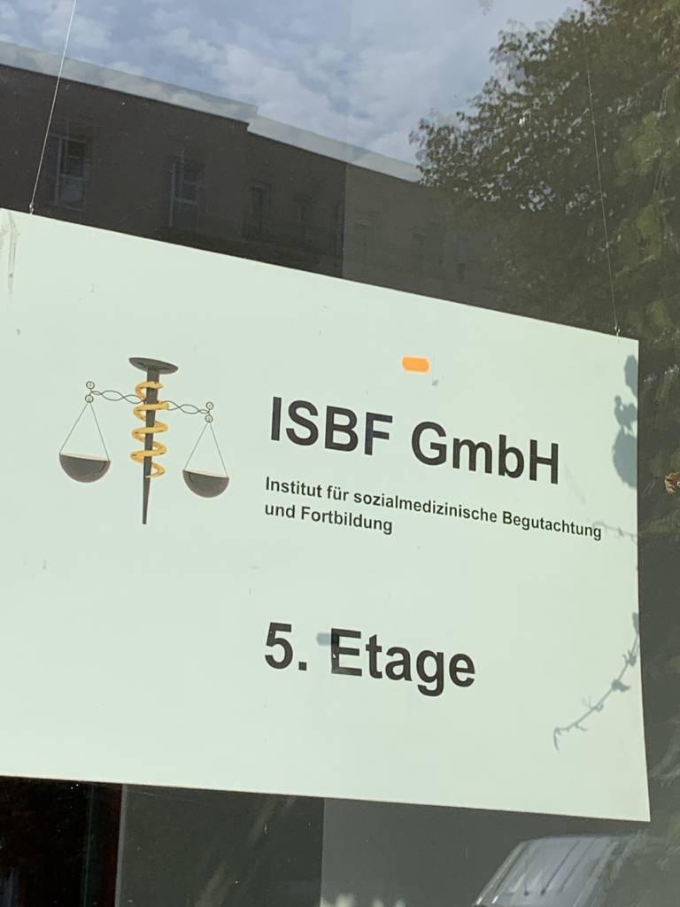 Profilfoto von ISBF GmbH Institut für Sozialmedizinische Begutachtung und Fortbildung