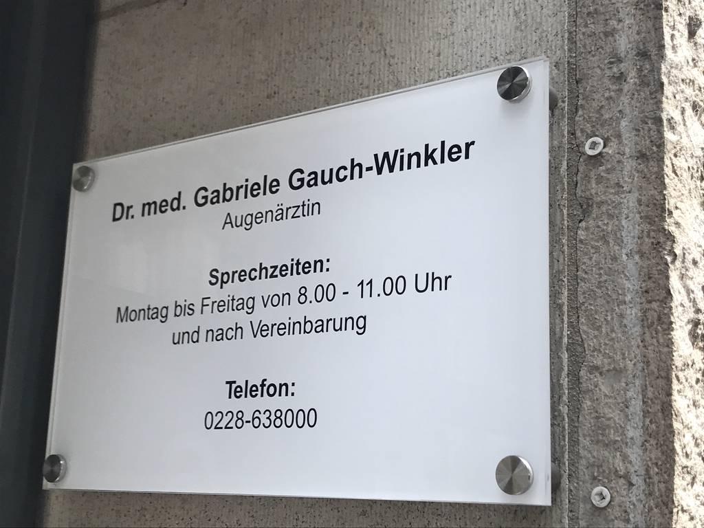 Profilfoto von Dr. med. Gabriele Gauch-Winkler