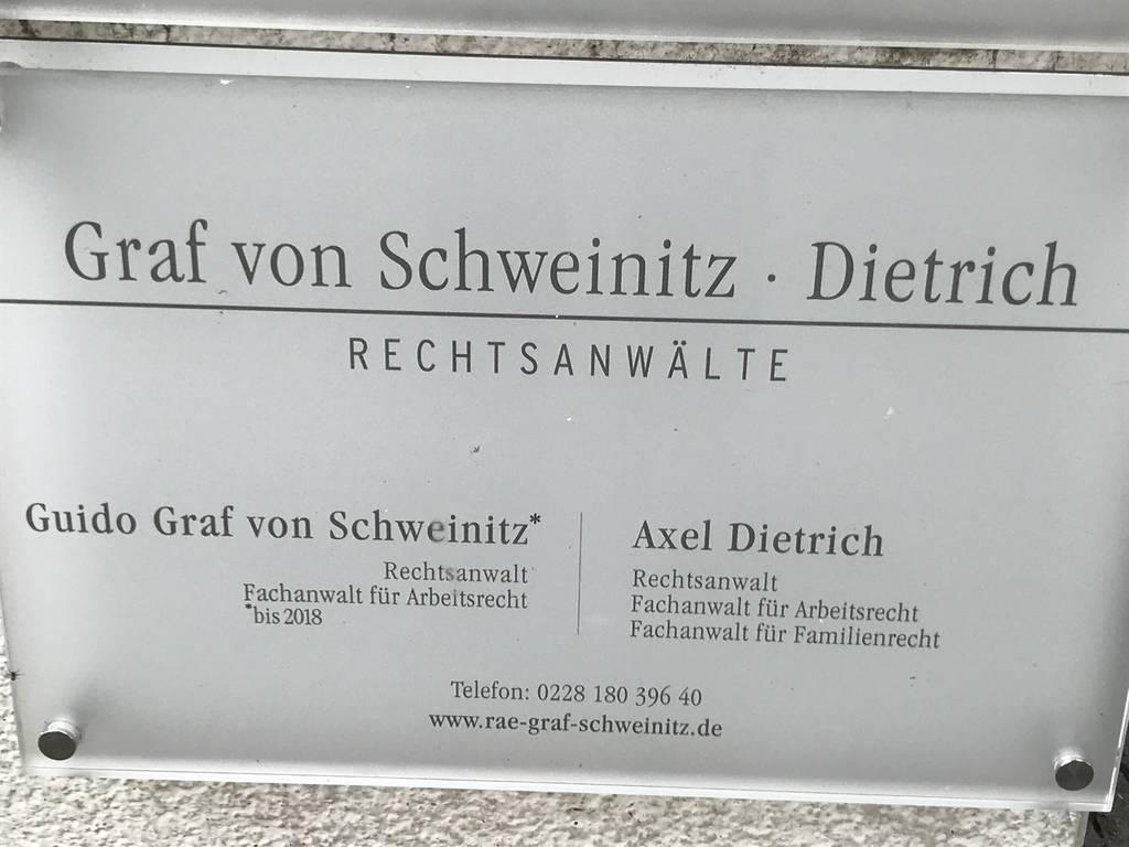 Profilfoto von Guido Graf von Schweinitz & Axel Dietrich, Rechtsanwälte