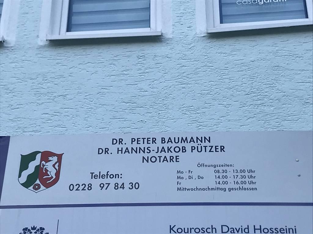 Profilfoto von Notare Dr. Peter Baumann und Dr. Hanns-Jakob Pützer