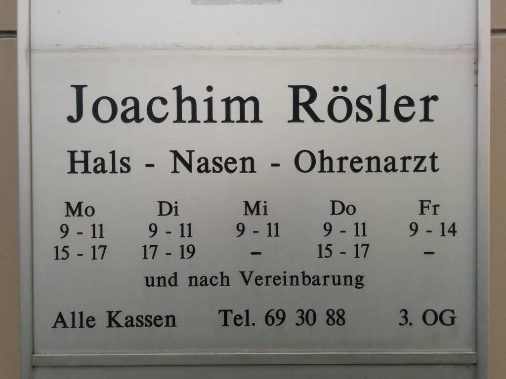 Profilfoto von Joachim Rösler