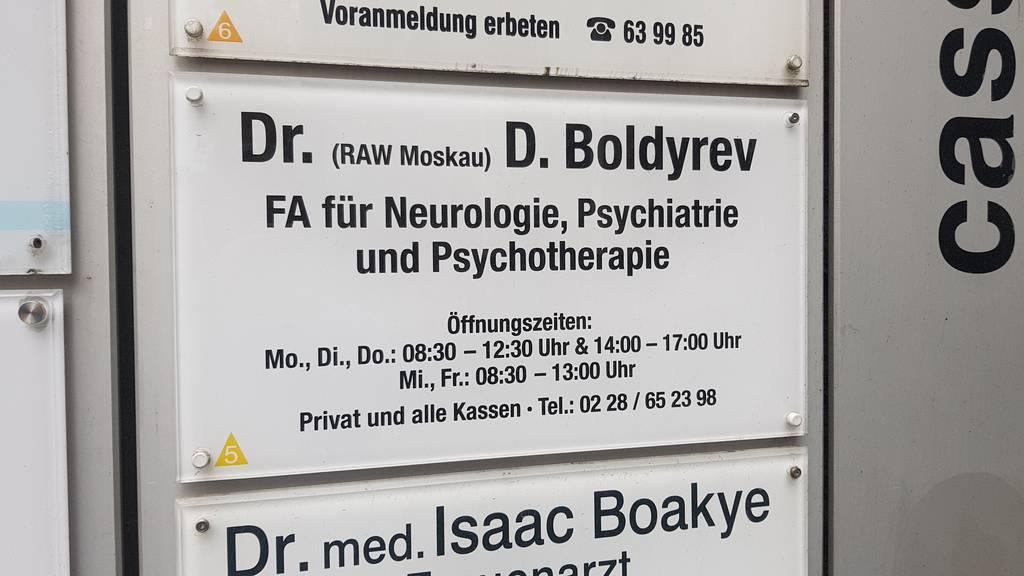 Profilfoto von D. Boldyrev, Arztpraxis für Neurologie und Psychiatrie in Bonn-Zentrum