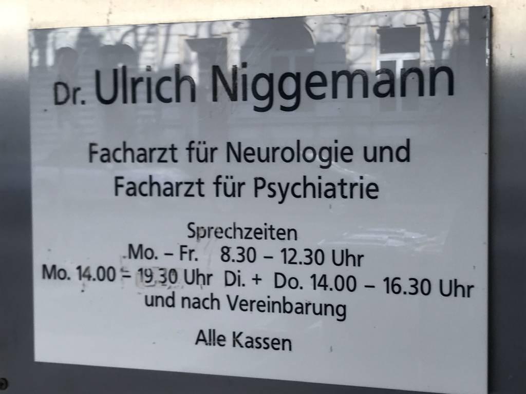 Profilfoto von Dr. med. Ulrich Niggemann