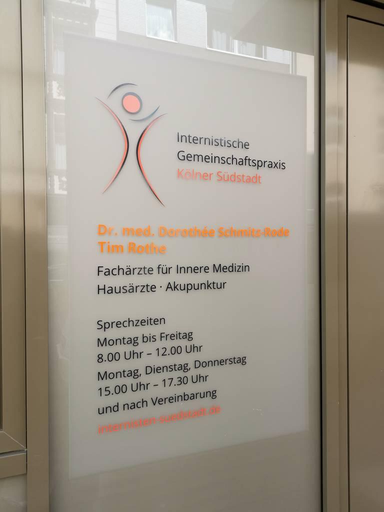 Profilfoto von Dr. Dorothee Schmitz-Rode