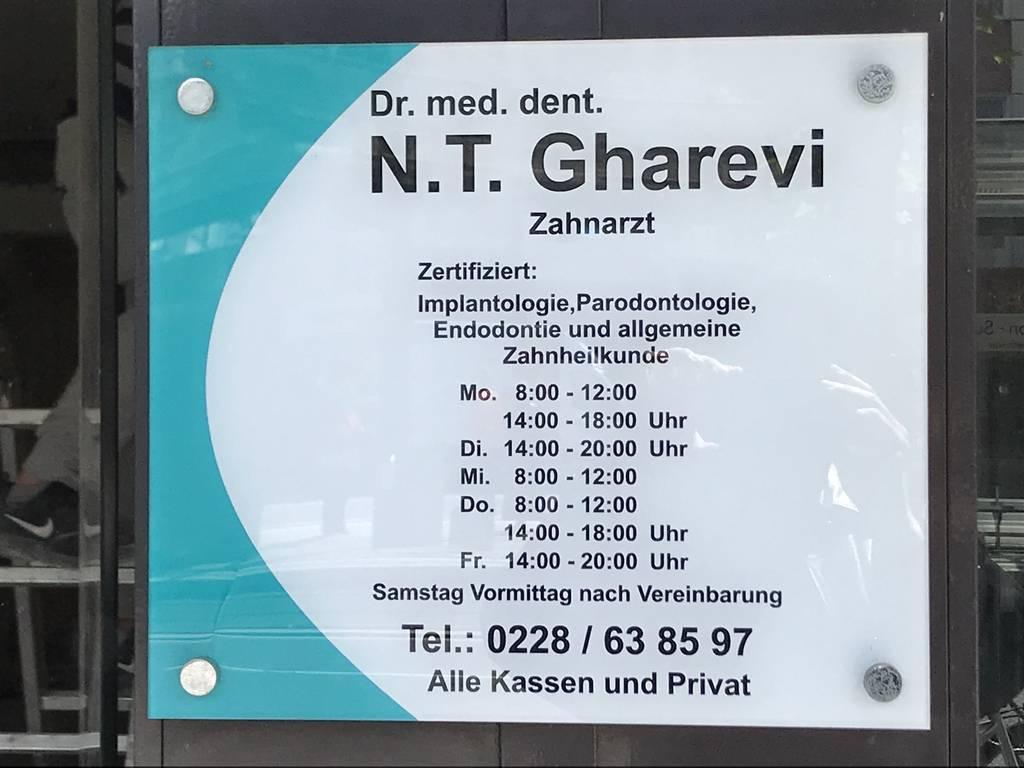 Profilfoto von Dr. med. dent. N.T. Gharevi Zahnarzt