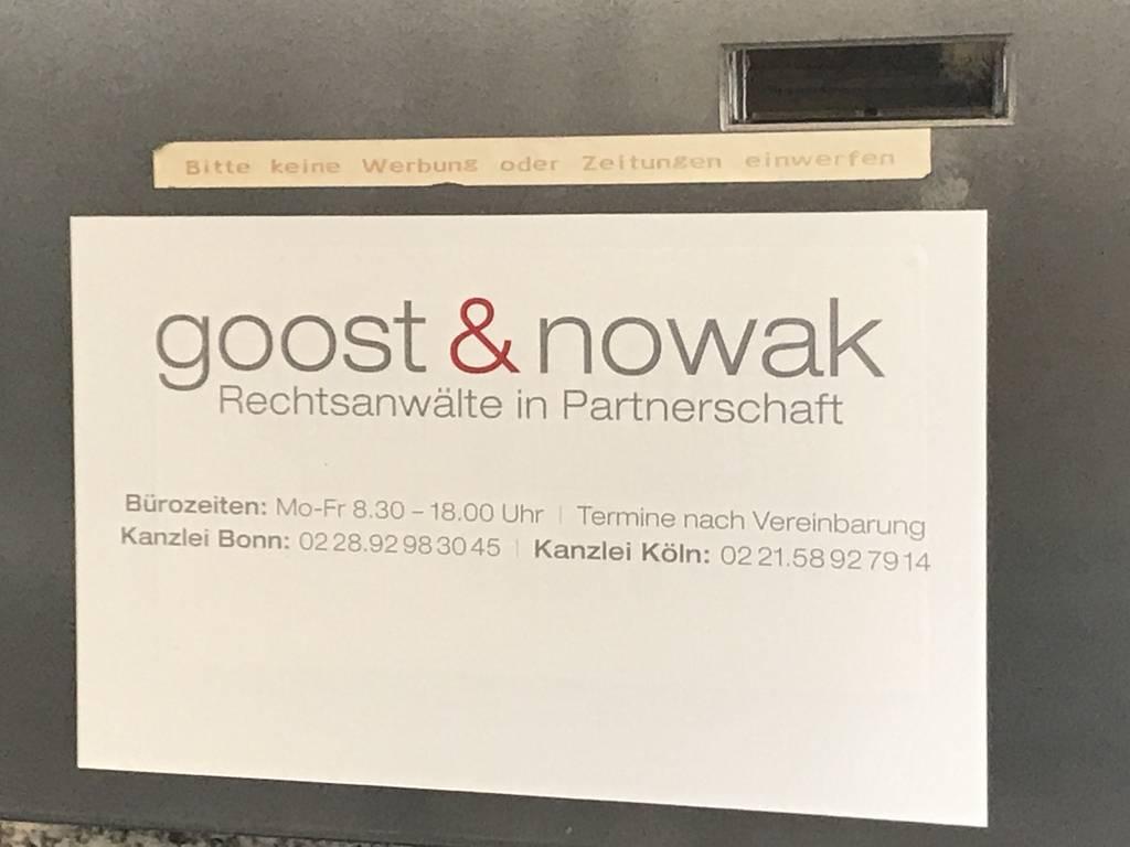 Profilfoto von Goost & Nowak Rechtsanwälte