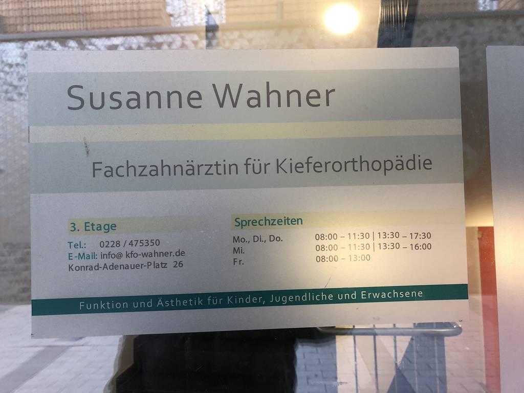 Profilfoto von Fachzahnärztin für Kieferorthopädie Susanne Wahner