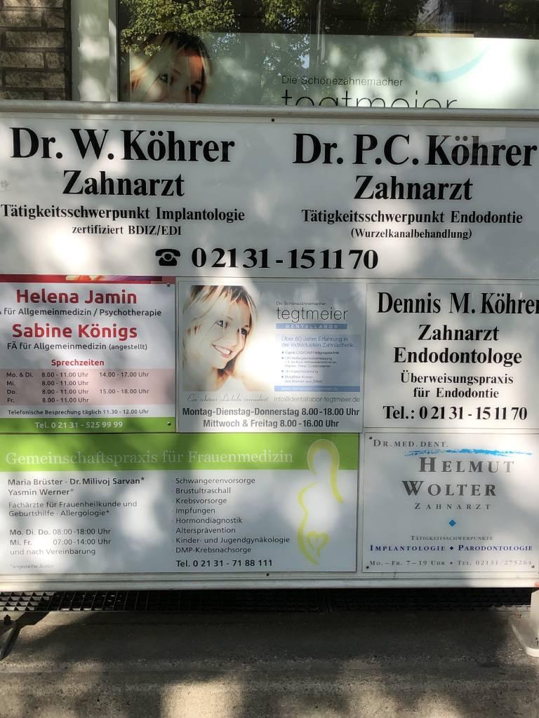 Profilfoto von Praxisfamilie Köhrer & Kollegen
