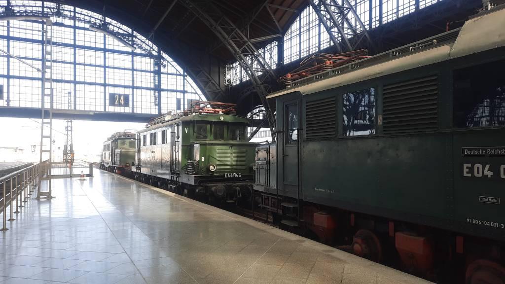 Profilfoto von Historische Lokomotiven auf dem Hauptbahnhof Leipzig