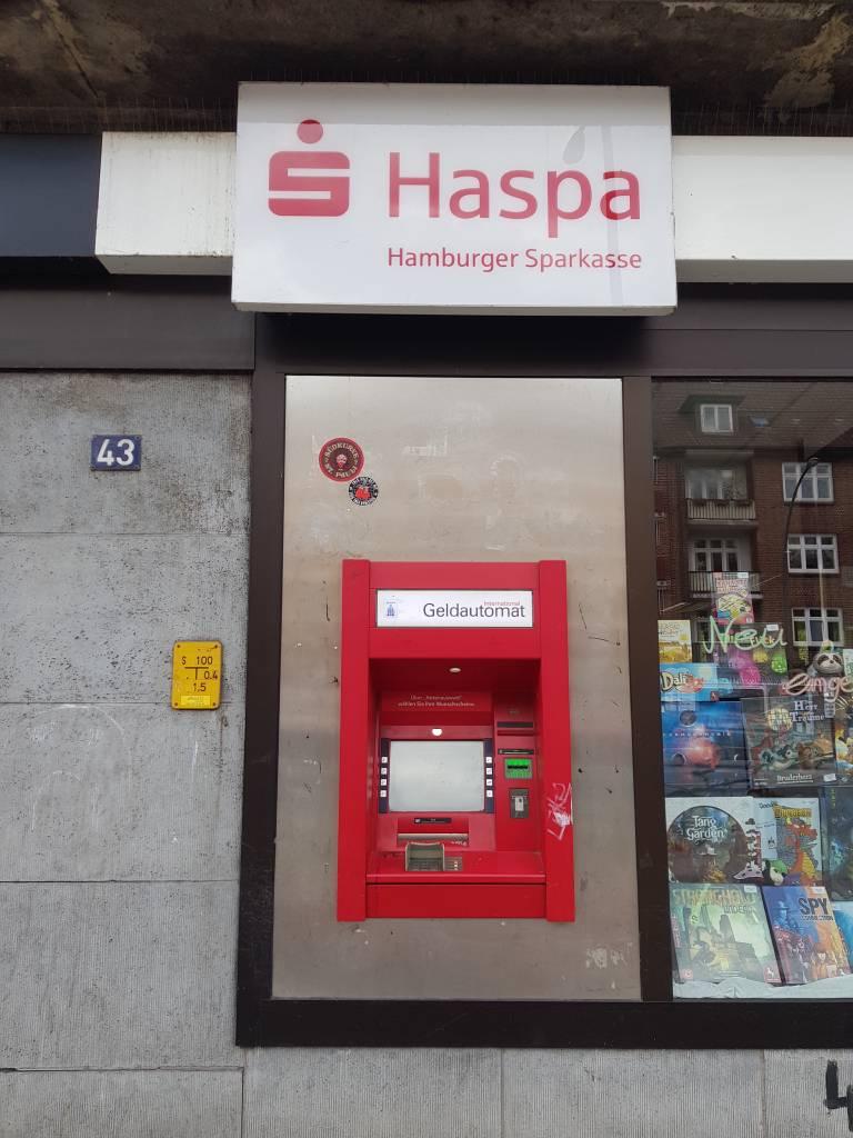 Profilfoto von Hamburger Sparkasse - Geldautomat