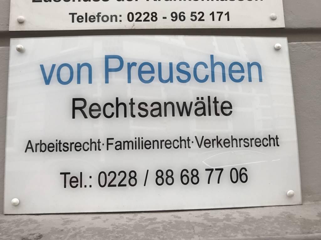 Profilfoto von Rechtsanwalt von Preuschen