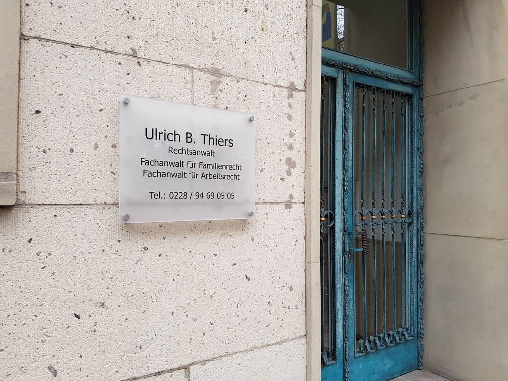 Profilfoto von Ulrich Thiers Rechtsanwalt