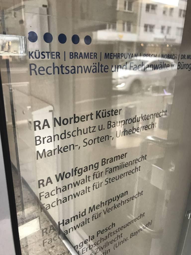 Profilfoto von Rechtsanwalt Wolfgang Bramer