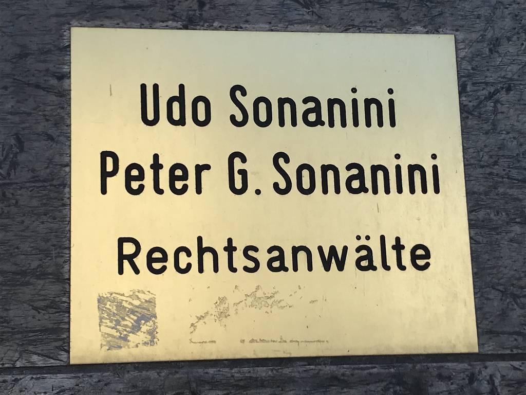 Profilfoto von Udo Sonanini Peter G. Sonanini Rechtsanwälte