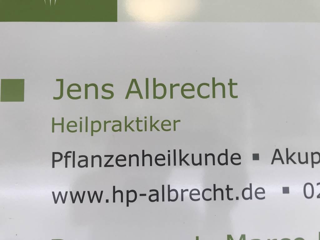 Profilfoto von Heilpraktiker Jens Albrecht