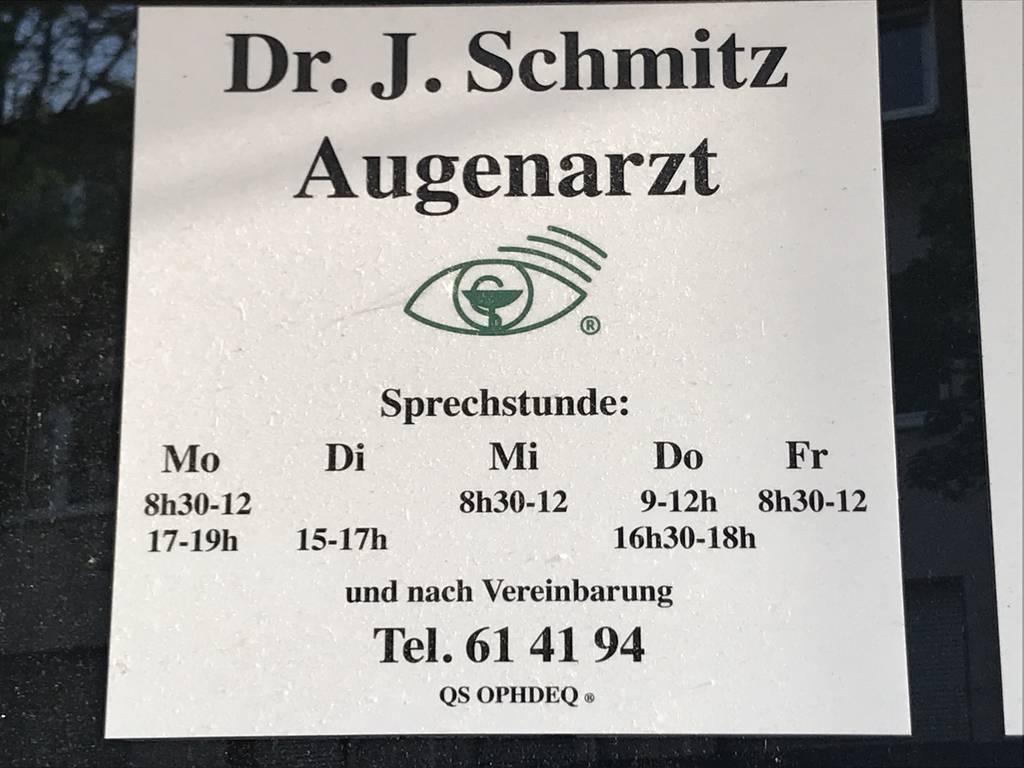 Profilfoto von Dr. Johannes Schmitz Augenarzt
