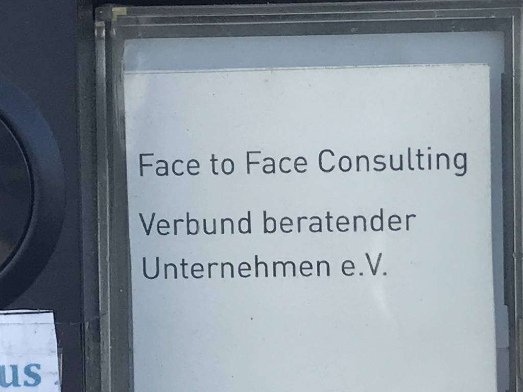 Profilfoto von Face to Face Consulting