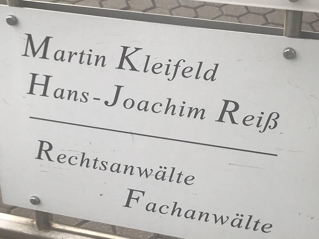 Profilfoto von Rechtsanwalt Hans-Joachim Reiß