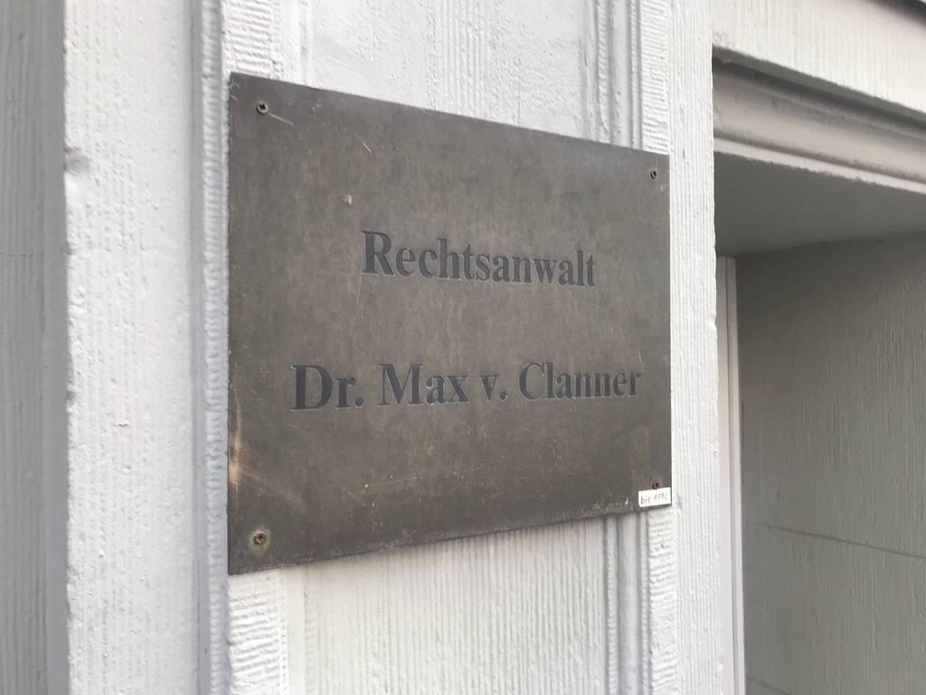 Profilfoto von Dr. Max Clanner v. Engelshofen