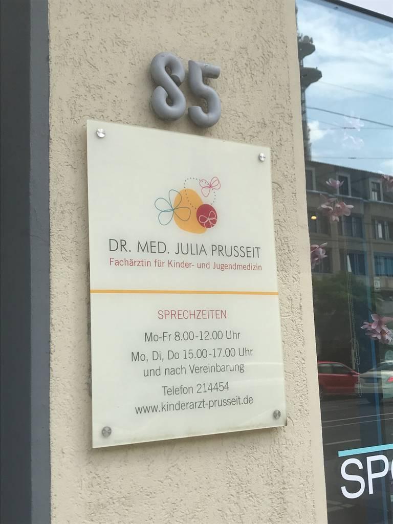 Profilfoto von Dr. med. Julia Prusseit