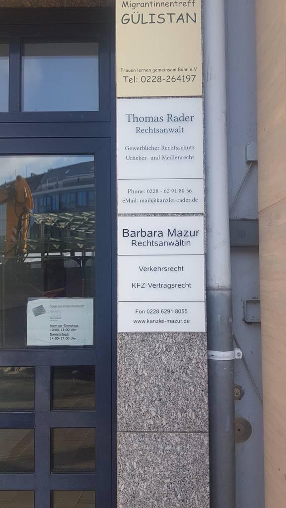 Profilfoto von Rader und Mazur Rechtsanwälte