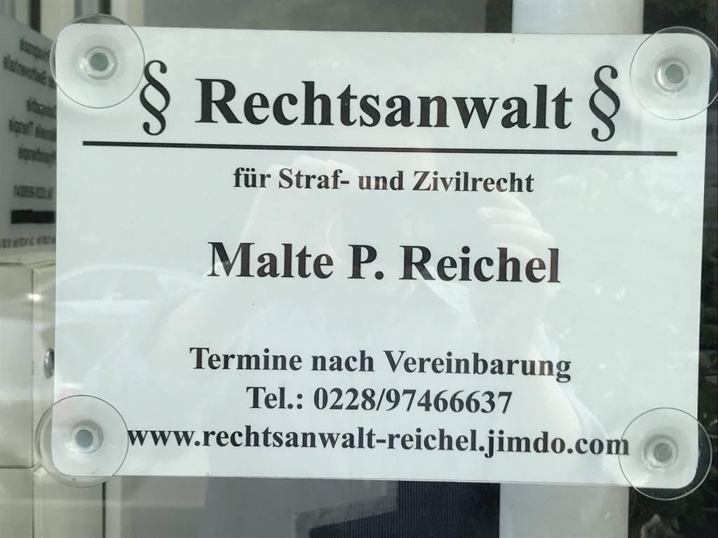 Profilfoto von Rechtsanwaltskanzlei Malte P. Reichel