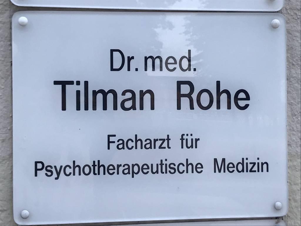 Profilfoto von Dr. med. Tilman Rohe