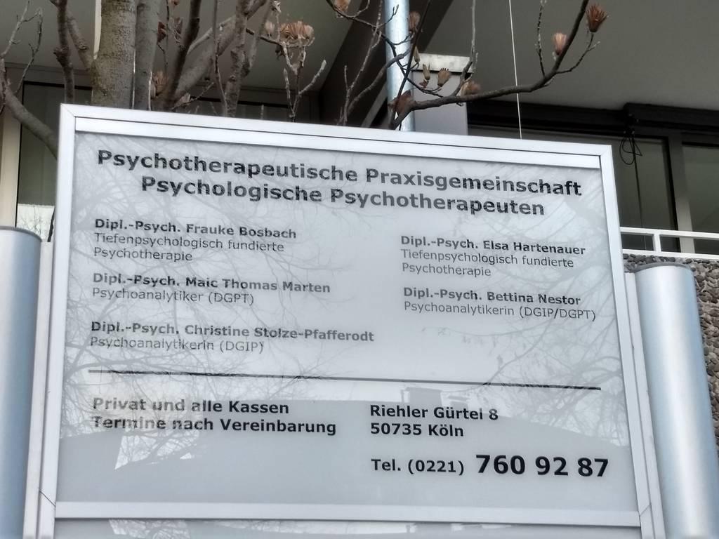 Profilfoto von Dipl.-Psych. Else Hartenauer