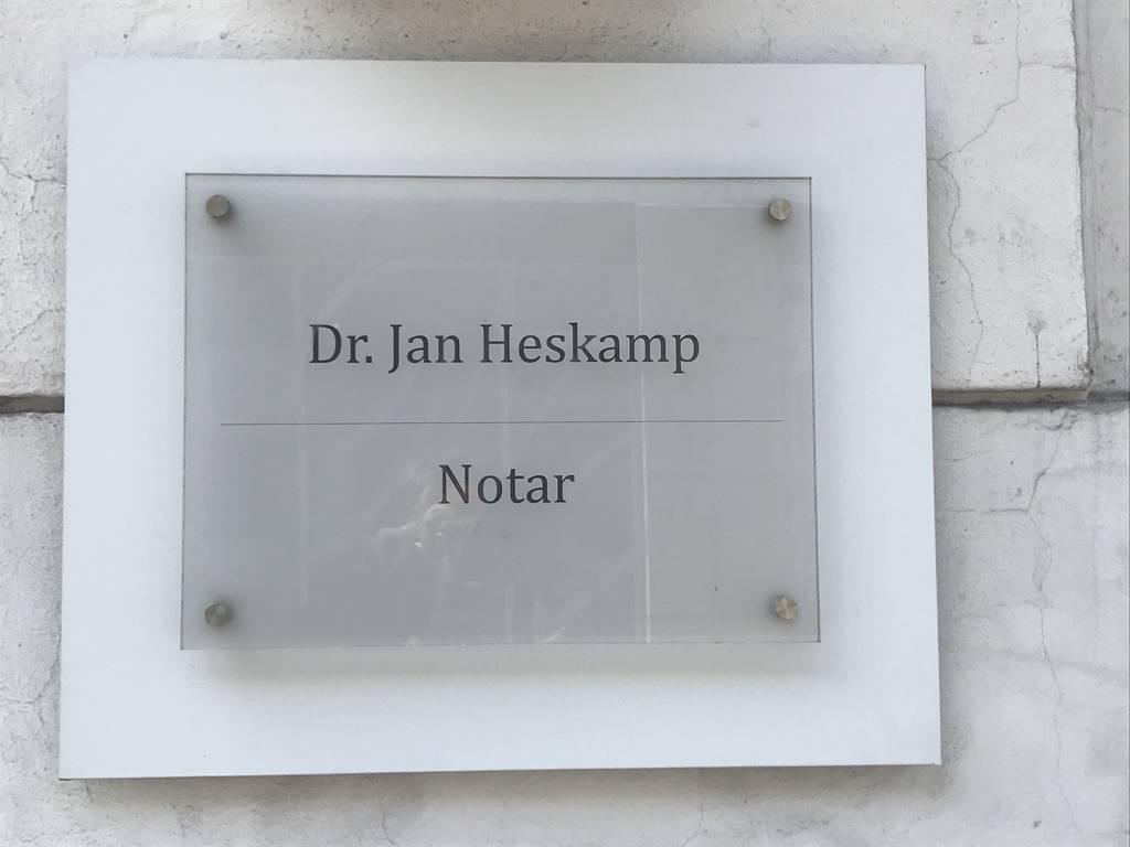 Profilfoto von Notar Dr. Jan Heskamp Bonn