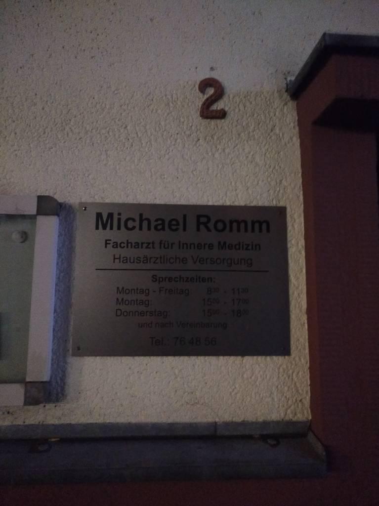 Profilfoto von Dr. Michael Romm