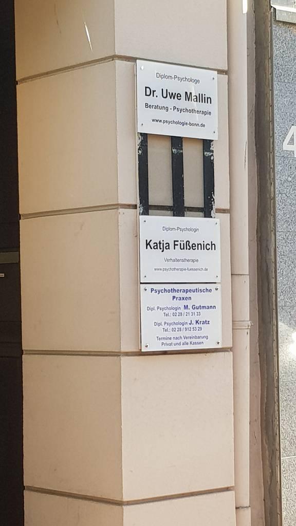 Profilfoto von Dr. Uwe Mallin Psychotherapeut, Psychotherapie,Psychologe Bonn